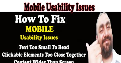 How to Fix Mobile Usability Errors In Google Search Console 2019