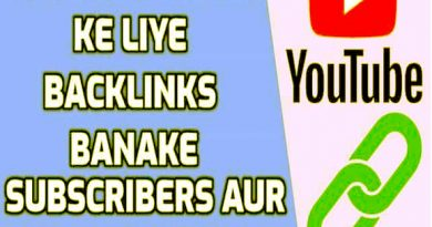 How To Create Best Youtube Video Backlink