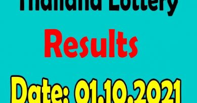 Thai Lottery Results